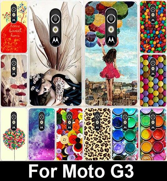 AKABEILA Sweet Home Clothes Buttons Soft TPU Covers For Motorola Moto G3 G 3rd Gen XT1541 XT1542 XT1543 Case Phone Shield