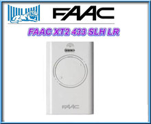 NEW FOR Wirless Gate Door Radio Control for FAAC XT2-433SLH-LR white 433.92MHz
