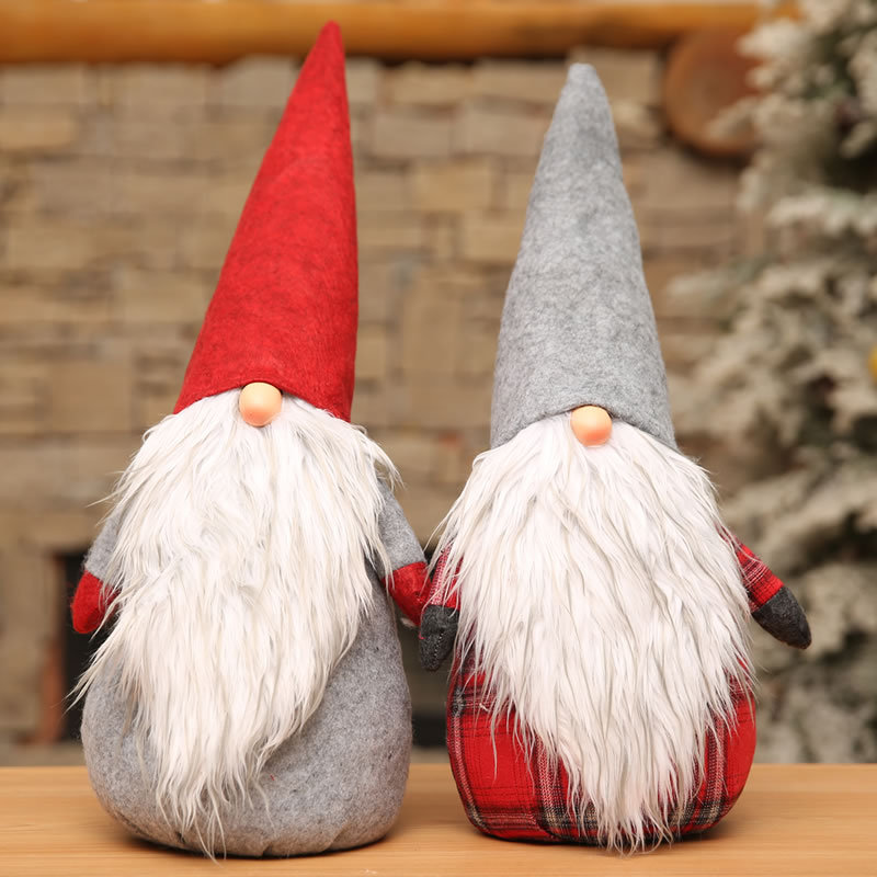 Swedish Tomte,Santa - Handmade Scandinavian Gnome Plush Present - Home Ornaments Holiday Decoration Christmas Decor Craft Сумка