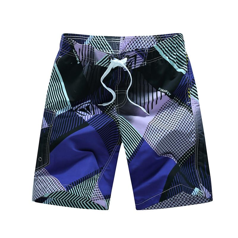 Brand Men's Board Shorts New Man Summer Fashion Printing Casual Shorts Plaid Quick Drying High Quality Size Beach Pants HF1520