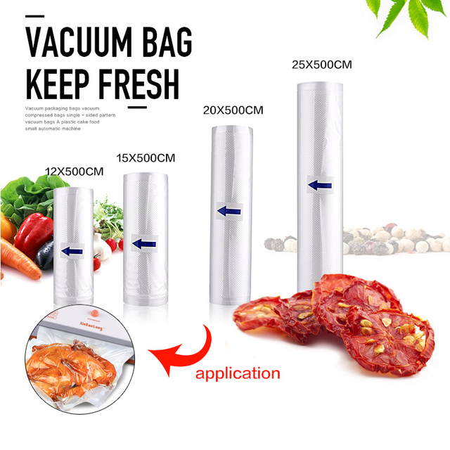 new vacuum sealer bags food sealing machine food storage bags sizes