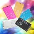 Super Speed 6 Gb/s SSD mSATA para USB 3.0 Disco Rígido caixa Adaptador Caso Apoio UASP Cinco Cores gabinete SSD para escolha