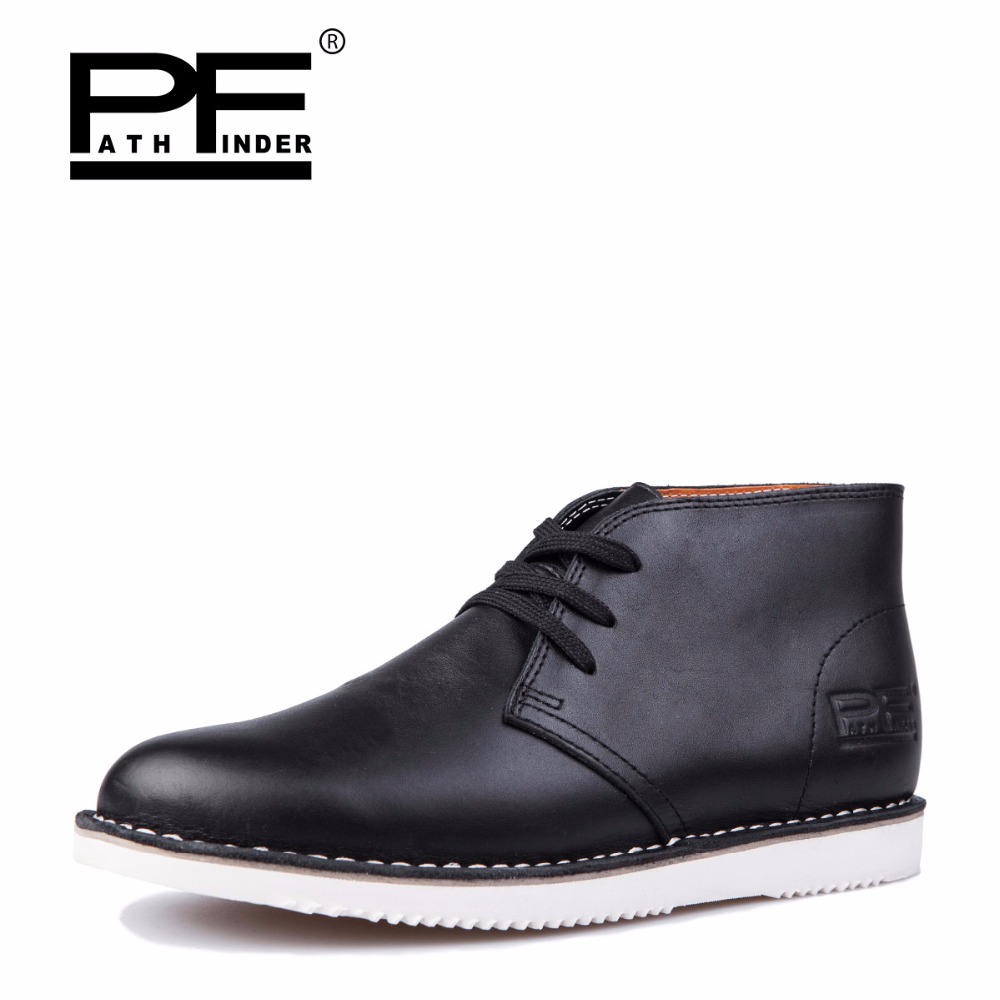 Pathfinder men casual genuine leather shoes 2017 winter man trainers breathable ankle driving flat lace up leather soft shoes 2017 simple common projects breathable lace up handmade leather shoes casual leather shoes party shoes men winter shoes