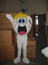 Sommer heißer verkauf!! Neue Erwachsene größe ei maskottchen kostüm mit anzüge schuhe hände phantasie party kleid Halloween kostüm