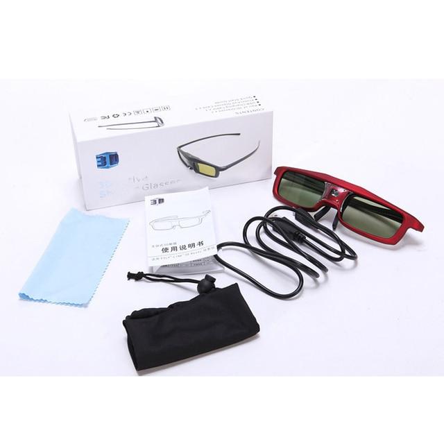 1 шт. Затвора Активные 3d-очки для всех DLP Проектор 96 ~ 144 Гц для Xgimi Z4X/H1 JMGO G1/GS1/P1 С розничной коробке
