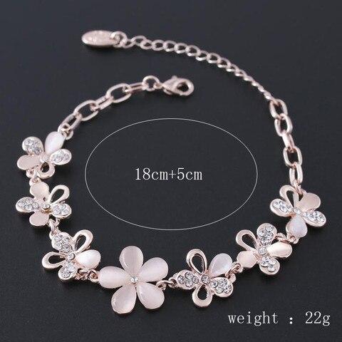 BR522 Femme mariage Couleur fiancailles bijoux Bracelet