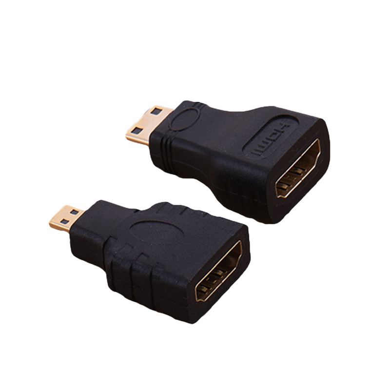 Пара Micro HDMI к HDMI и мини-HDMI конвертер позолоченный HD разъем расширения адаптер для видео ТВ для Xbox 360 HD ТВ 1080 P