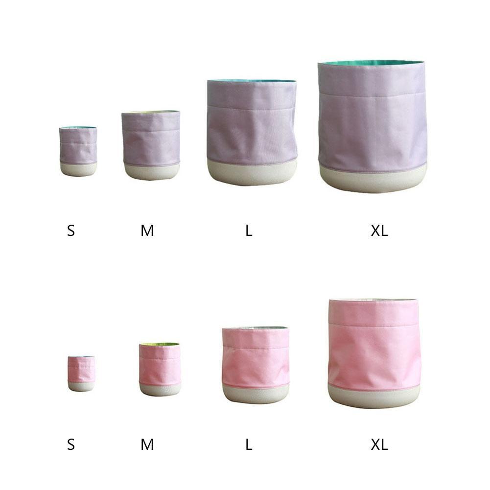Home Cloth Flower Plant Bag Waterproof Fabric Planter Foldable Succulent Plant Flowepot Garden Basket Supplies