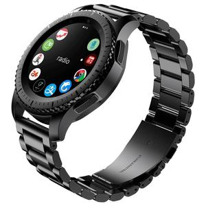 Image 2 - מתכת רצועת עבור Samsung הילוך S3 Frontier band smartwatch נירוסטה צמיד Huawei שעון GT 2 רצועת גלקסי שעון 46mm S 3