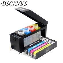 Cartuchos de tinta de impresora CISS con chip ARC, para HP PageWide 352dw 377dw 452dw 452dn 477dw 477dn 552dw 577dw P55250dw P57750dw