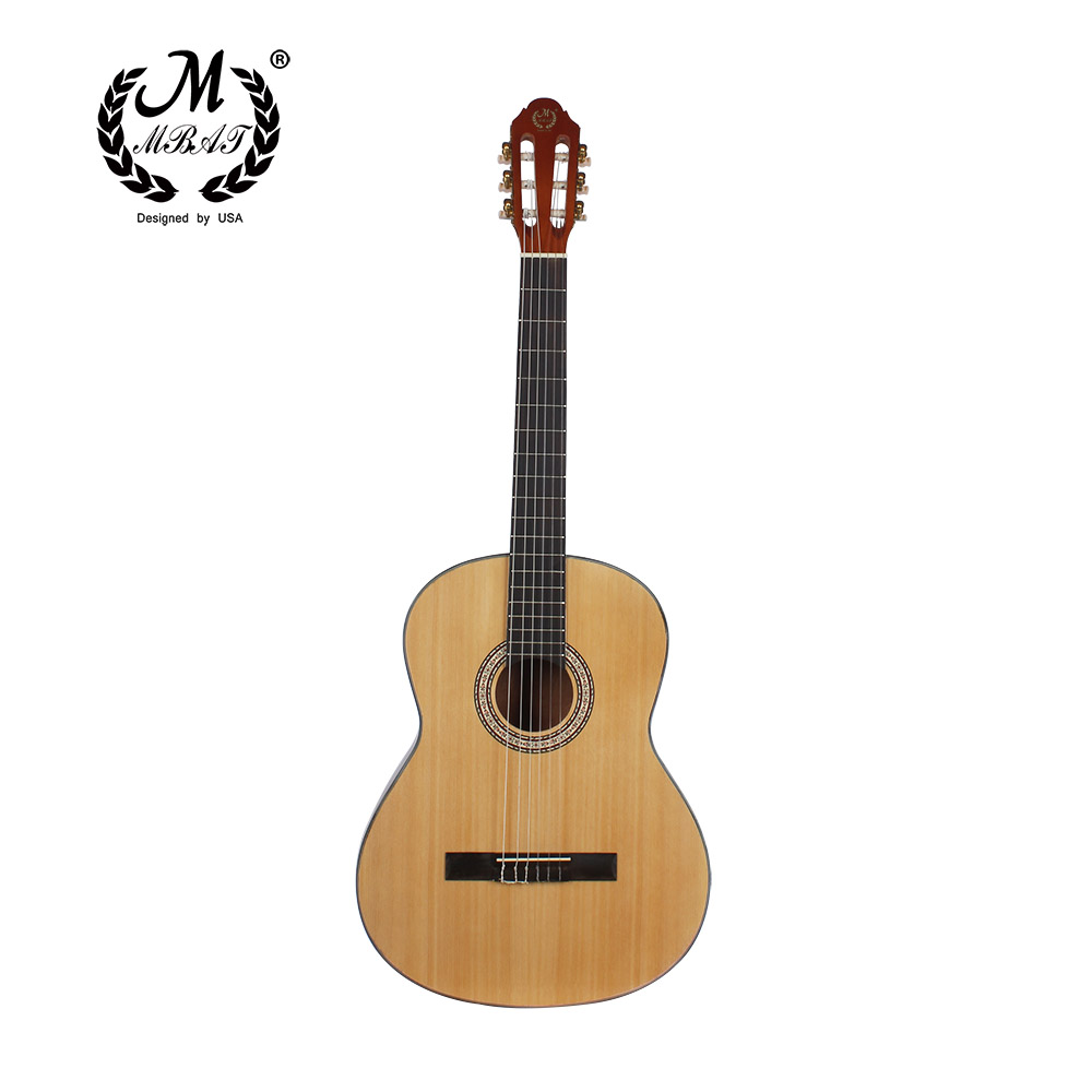 все цены на 39 Acoustic Classical Guitar Nylon 6 Strings Hollow Body Profissionais Wooden Guitar Sapele-wood Fingerboard Free Shipping