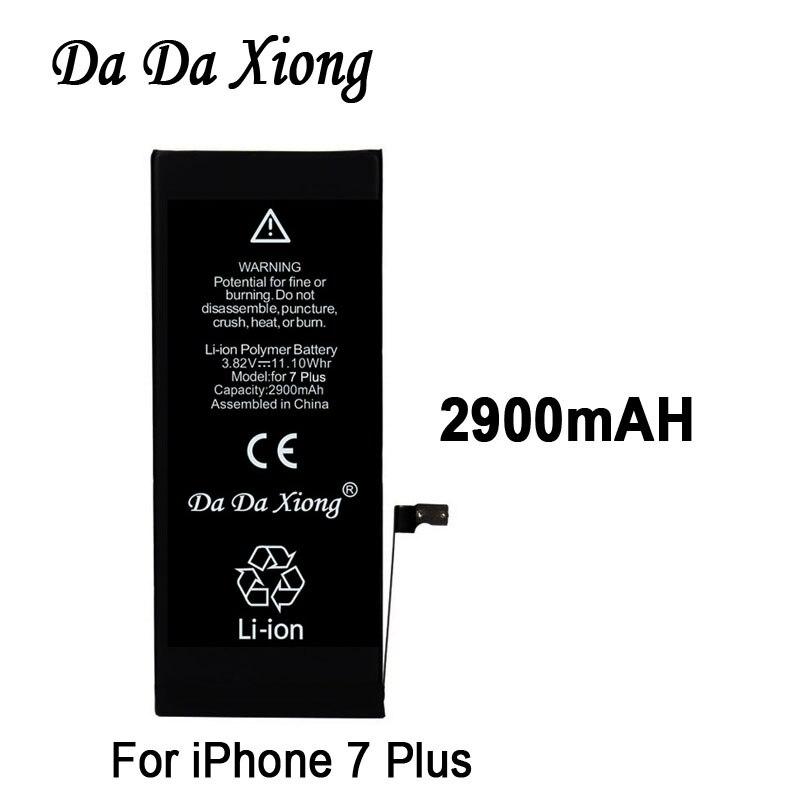 Replacement-Batteries Xiong-Battery iPhone Apple 7-Plus Da Original for iPhone/7-plus/2900mah/Real-capacity