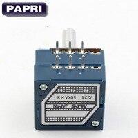 1 UNIDS 2x50KA JAPÓN ALPES Rk27 Potenciómetro de Volumen Estéreo de REGISTRO de Audio Amplificadores de Tubo 6 MM
