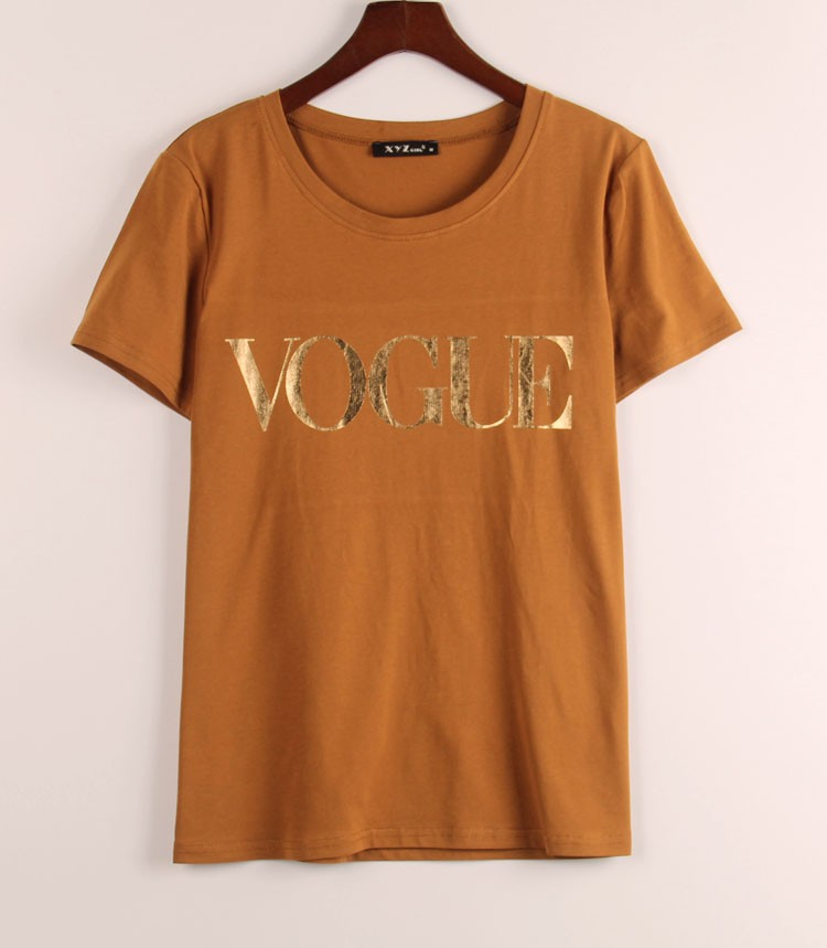 HTB1hRPUJVXXXXatXFXXq6xXFXXXu - VOGUE Printed T-shirt Women Tops Tee Shirt Femme New Arrivals