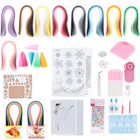Paper Quilling DIY Kits Quilling Paper Tool Rolling Pen Needle Strips Beginner DIY Crafts Tool Set for Art Craft Handmade