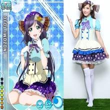 Lovelive! candy girls nozomi tojo cosplay princesa dress disfraces criada francesa cafetería el traje de mucama