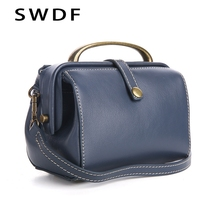 SWDF Brand Designer Women Genuine Leather Messenger Bags Crossbody Soft Cowhide Shoulder Bag Fashion Women Bags Handbags Purse chispaulo women genuine leather handbags cowhide women messenger bags luxury brand woman crossbody bags for women tassel t551