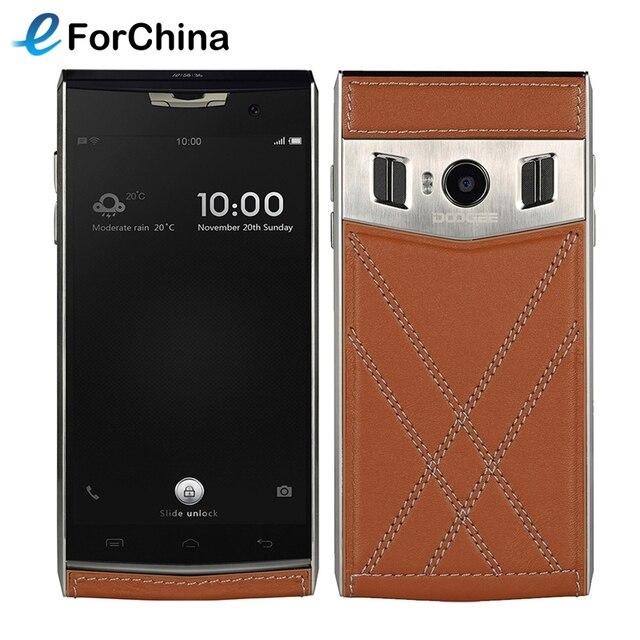 Оригинал DOOGEE T3 Смартфон 32 ГБ ROM 3 ГБ RAM Двойной Экран 4.7 + 0.96 дюймовый Android 6.0 MTK6753 Octa Ядро OTG 3200 мАч Двойной SIM