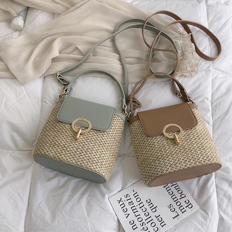 Straw Bucket Bag (14)