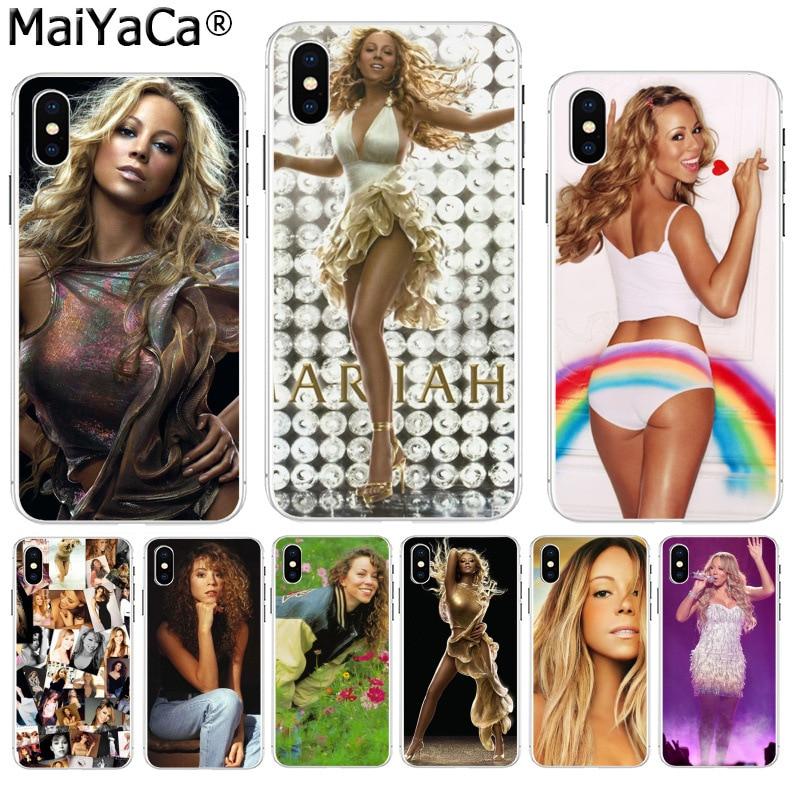 MaiYaCa Singer Mariah Carey Luxury High-end phone Accessories case for  Apple iPhone 8 7 0da5a1df7f30