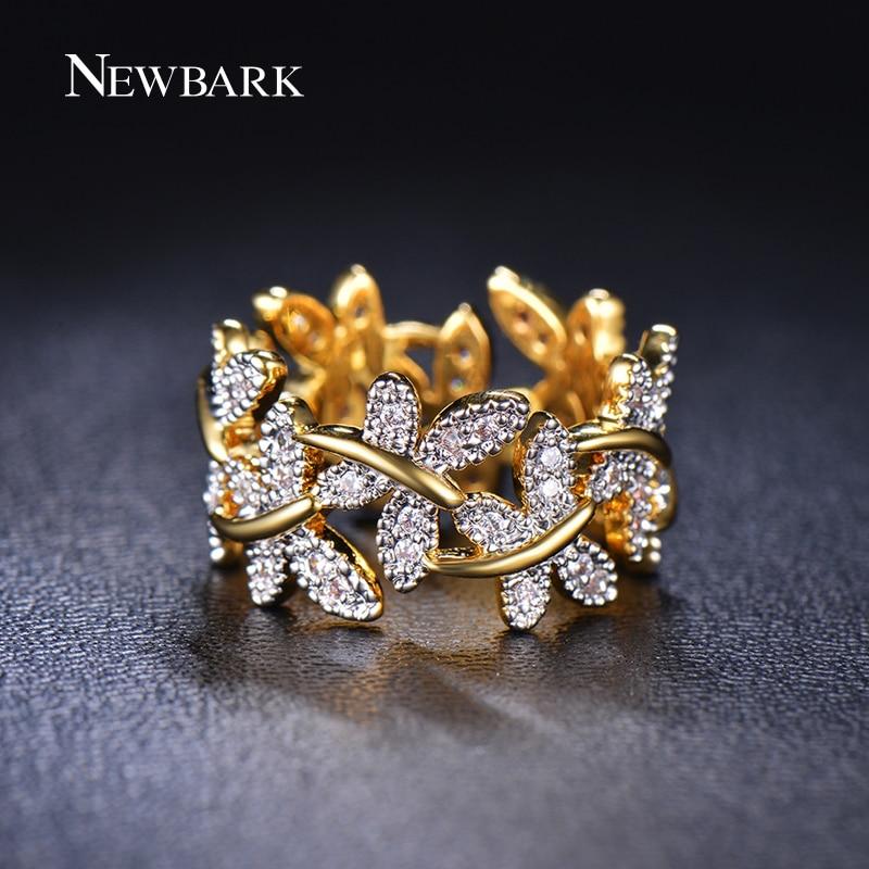NEWBARK Κομψά δαχτυλίδια λουλουδιών που - Κοσμήματα μόδας - Φωτογραφία 2