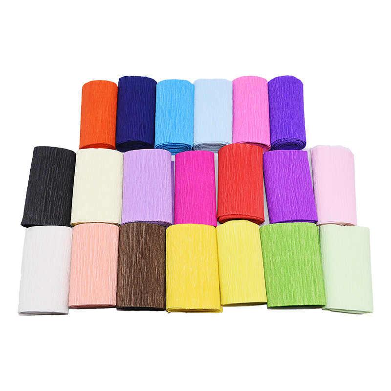250*10 centimetri di carta Origami di Carta Crespa FAI DA TE Rugosa Rotolo di Carta per la Cerimonia Nuziale Decorazione Del Partito Del Fiore Confezionamento Regali di Imballaggio materiale 7