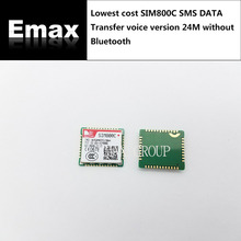 Free Ship 10PCS LOT SIM800C lowest cost SMS DATA Transfer voice 100 New Original Genuine Distributor