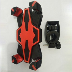 Image 4 - New Bicycle Motorcycle Handlebar Mount Holder Cradle Bracket Stand Support For Most Smartphones Bike Cellphone Bracket Tools