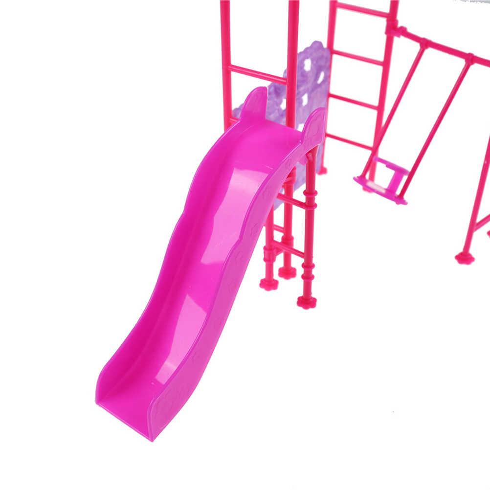 1 компл. игровой домик для девочек кукла парк развлечений для Babi кукла слайд парк развлечений слайд качели интимные аксессуары для кукол 10 см