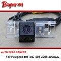 Para Peugeot 406 407 508 3008 fio 3008CC sem fio/câmera de Segurança Do Carro Câmera de estacionamento/Invertendo Rear View Camera/HD CCD de Visão Noturna