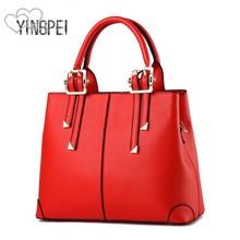 여자 가방 디자이너 새로운 패션 캐주얼 여자의 핸드백 럭셔리 어깨 가방 고품질 PU 브랜드 2018 한국어 스타일 대용량