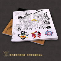 One Piece Coloring Book Secret Garden Style Coloring Book For Relieve Stress Kill Time Graffiti Painting