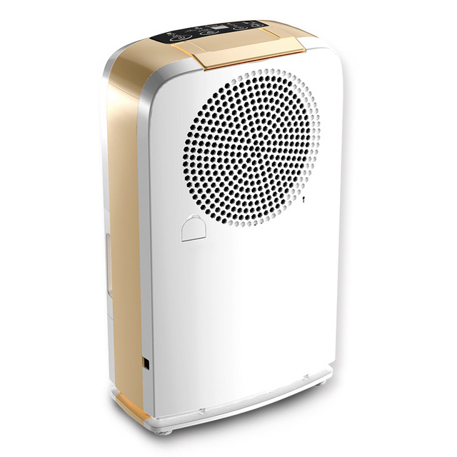 Household Automatic Electric Dehumidifier Air Dryer 220w Dehumidification  10L/D With Carbon Filter Net 24H