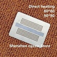 Direct heating 80*80  90*90 GDDR5X  D9VRL D9VRK  D9TXS  D9V  190FBGA  memory BGA Stencil Template