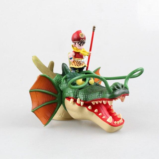 16 cm anime Japonês figura dragon ball Son Goku equitação dragão action figure collectible modelo brinquedos para meninos