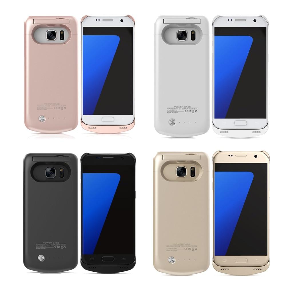 Цена за S7 край 5200 мАч Телефон Случае Мощность Портативный Внешний Powerbank Чехол Зарядное Устройство Для Samsung Galaxy S7 edge Зарядное Устройство Резервного Копирования Случае