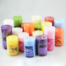 Q Smokeless Aromatherapy Candles Romantic European-style Cylinder Scented Candle