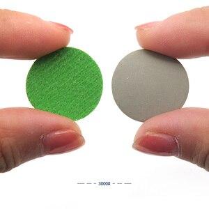 Image 5 - 100 pces 1 Polegada 25mm à prova dsandágua lixa discos gancho & loop carboneto de silício molhado/seco 60 a 10000 grit