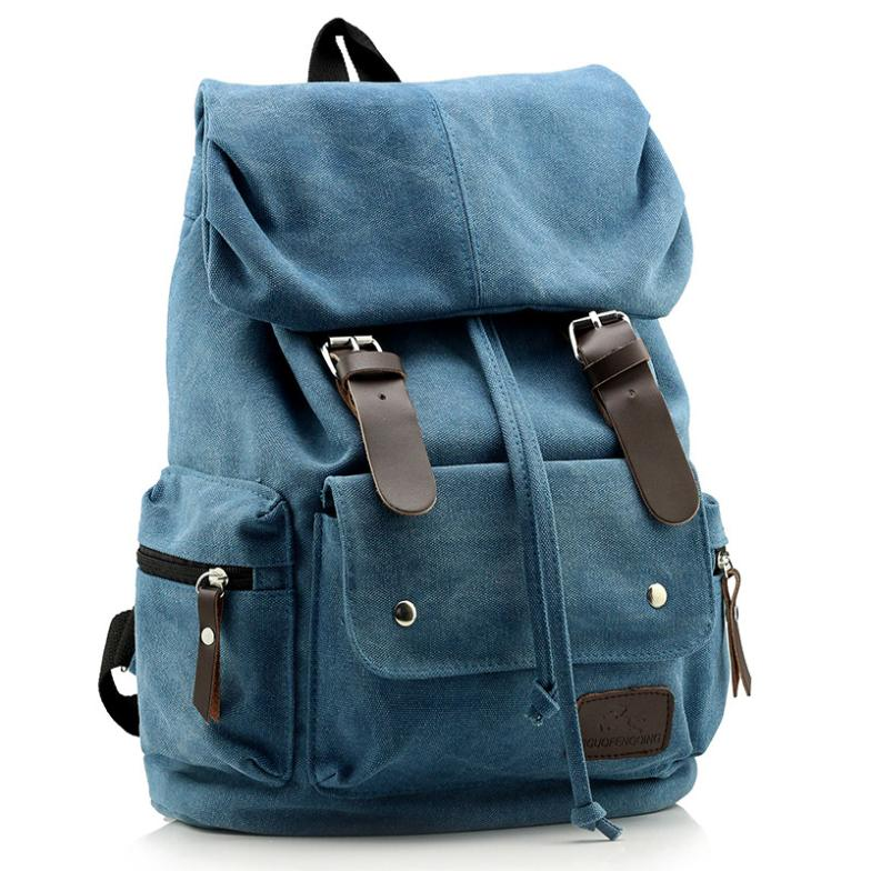 Best Canvas Shoulder Bag Back Pack Doubles College Wind Korean Student Backpack Whole Fashionable Cc42 In Backpacks From Luggage Bags On