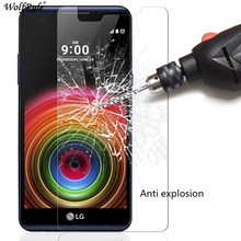 2PCS For Glass LG X Power Screen Protector Tempered Glass For LG