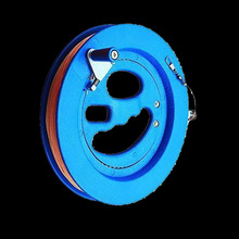 Professional High Quality ABS Kite Blue Wheel Big Kite Flying Traction Tools Kite Handle Wheel and Line