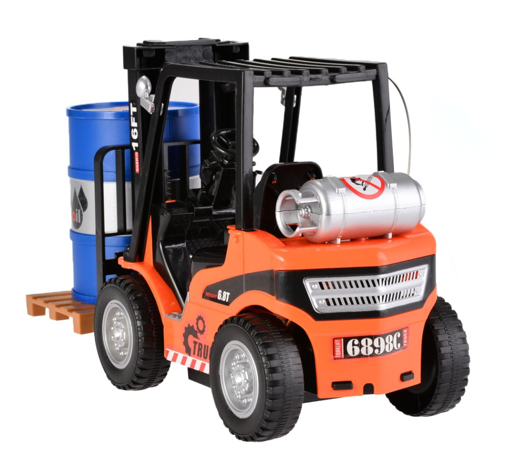 rc trucks children toys 16 scale 6 8t forklift truck wireless