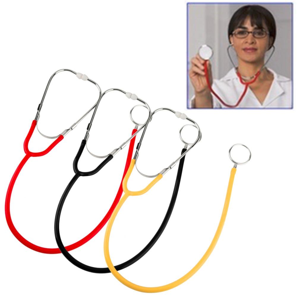 Pro Dual Head EMT Stethoscope for Doctor Nurse Medical Student Health Blood (red)
