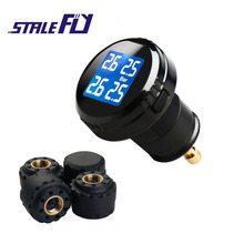 New TPMS Automotive Tire Stress Monitoring System DOS Diagnostic Tires 12V Help Toolbars & PSI with Tire Stress Sensor F20