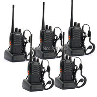 BaoFeng BF 888S Long Range UHF 400 470 MHz 5W CTCSS DCS Portable Handheld Two Way