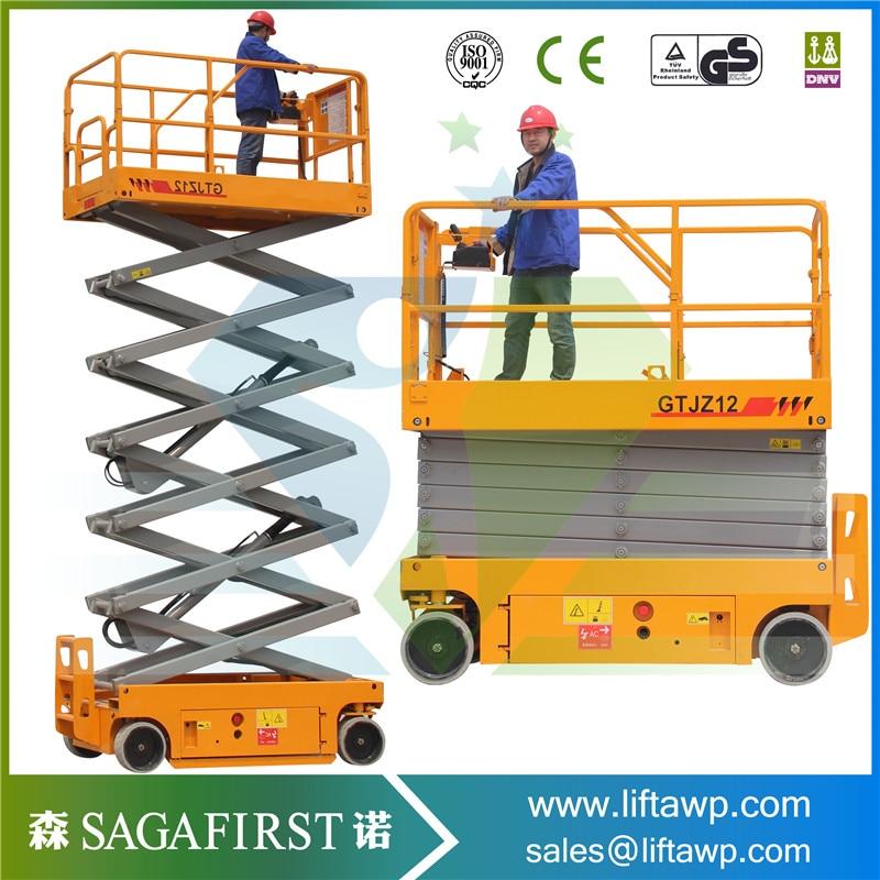 Sinofirst 8m Height Hydraulic Self-propelled Scissor Lift Platform