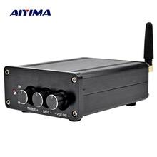 AIYIMA TPA3116 dijital ses amplifikatörü Amplificador 2.0 HIFI Bluetooth 4.2 D sınıfı Stereo yüksek güç amplifikatörü 100W * 2 ev tiyatro