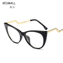 KESMALL New Prescription Glasses Men Women Vintage Cat Eye Glasses Frame With Myopia Lens Gaming Eyewear Gafas De Lectura XN427P