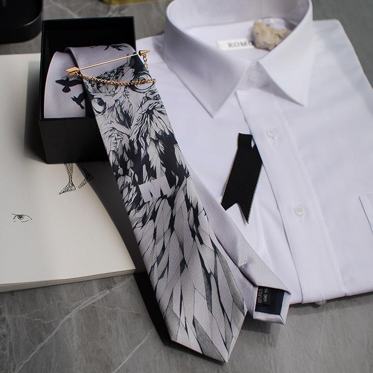Owl Design Fantasy Series Tie Wedding Host Western European Party PARTY Gift Fashion Tie