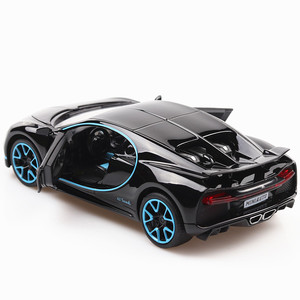 Image 2 - 1:32 Diecast Car Model Metal Sports Car Alloy Car Simulation Racing Model Sound Light Door Pull Back Car Boy Toy For Kids Gift